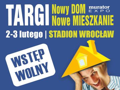 """Zapraszamy na targi """"Nowy Dom, Nowe Mieszkanie"""""""
