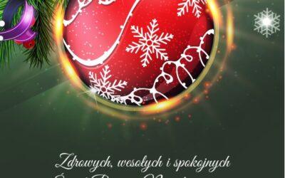 Wesołych Świąt Bożego Narodzenia oraz Szczęśliwego Nowego Roku!